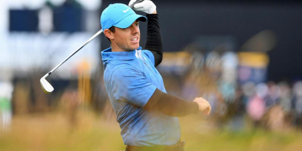THE OPEN   McIlroy cards night...