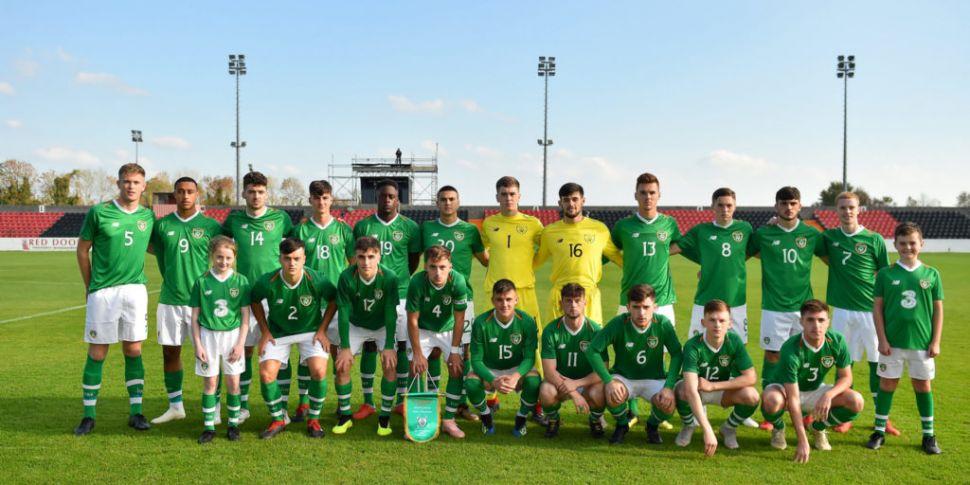 Republic of Ireland squad name...