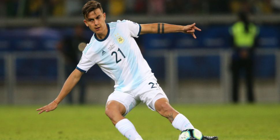 Confusion over whether Dybala...