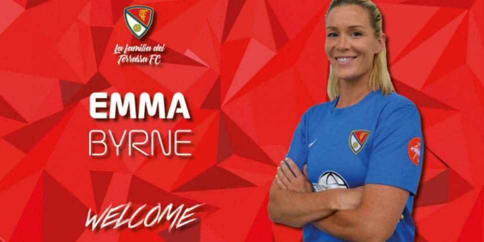 Ireland legend Emma Byrne come...