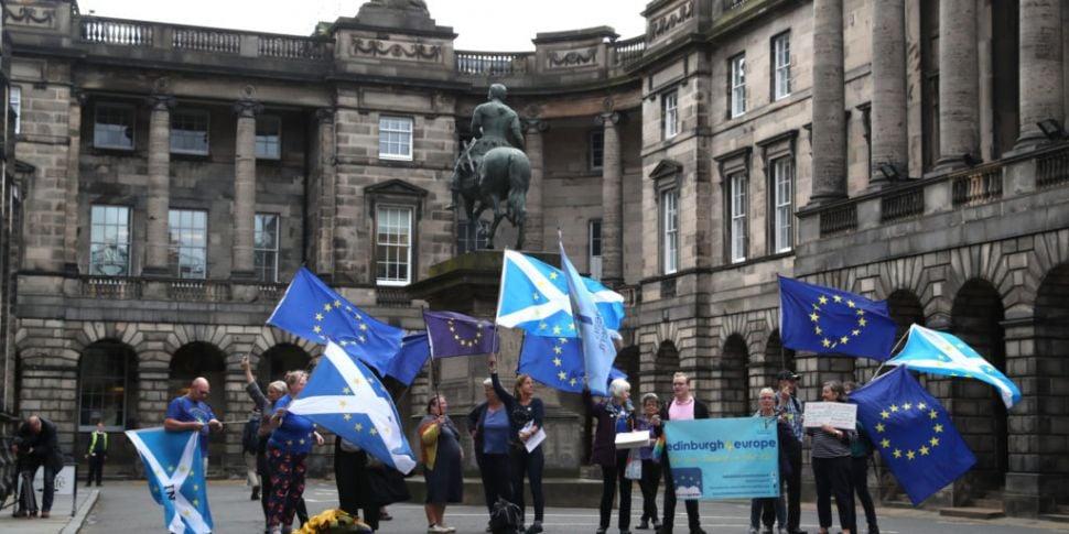 Scottish court rules Johnson's...