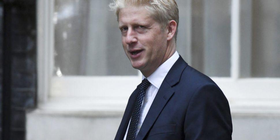 Boris Johnson's brother Jo qui...
