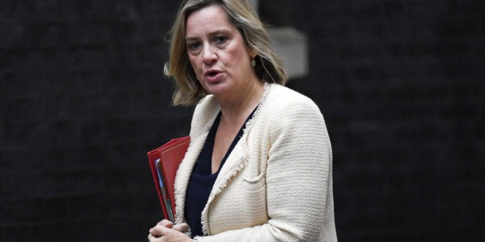 UK minister Amber Rudd resigns...