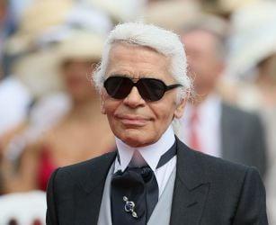 Iconic fashion designer Karl L...
