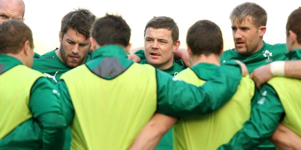 Brian O'Driscoll: Sean O'Brien...