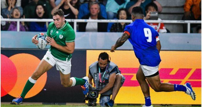 Ireland RWC with Alan Quinlan