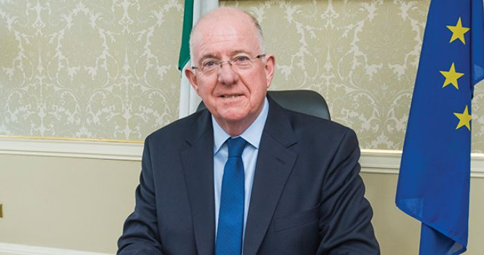 Charlie Flanagan on the Dáil voting controversy, fireworks and Brexit