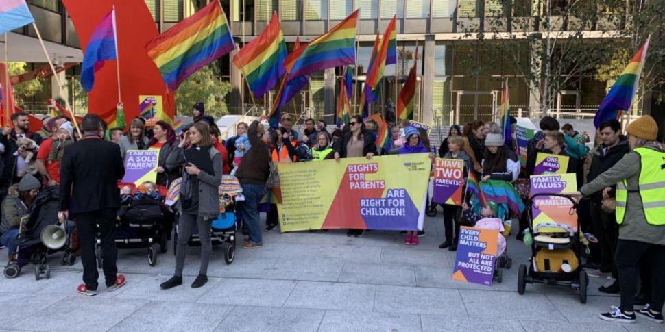Protesters demand equal LGBTQ+...
