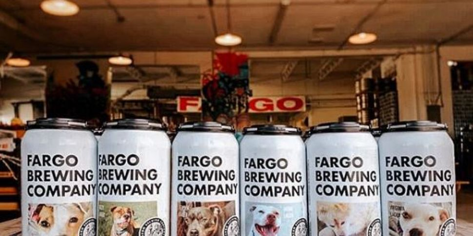 US beer company features dogs...