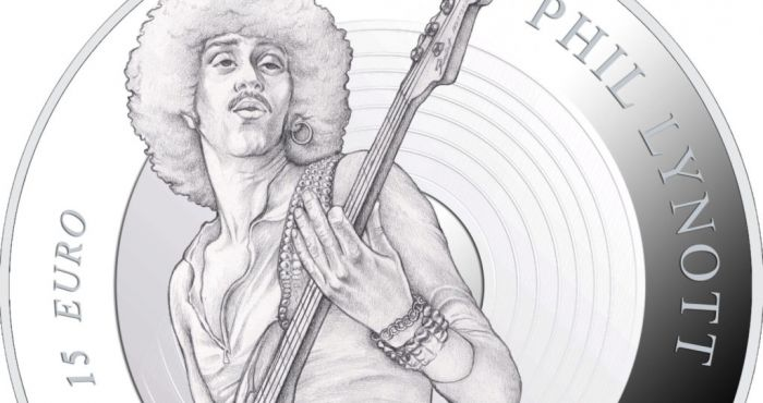 Central Bank to launch Phil Lynott commemorative coin