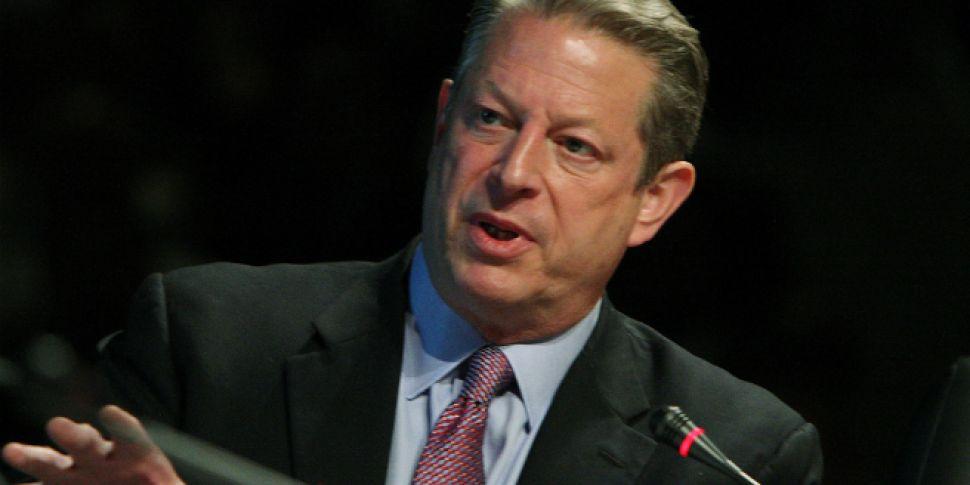 Al Gore visits Dublin for glob...