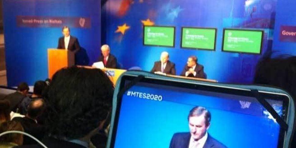 Taoiseach launches new economi...