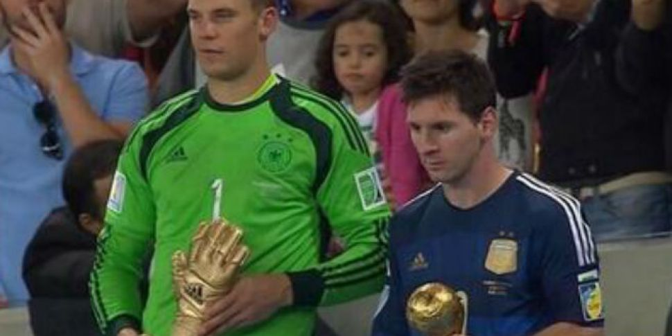 Messi is the saddest man to wi...