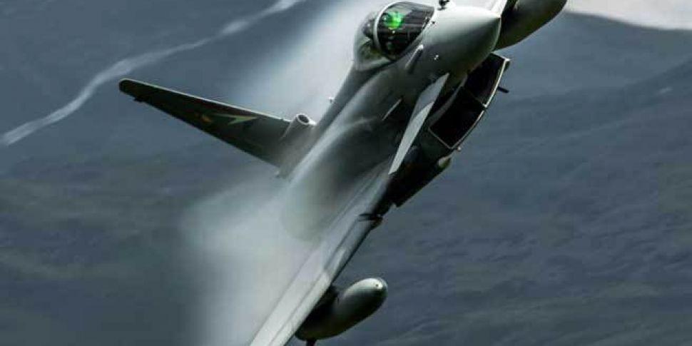 Eurofighter jet crashes at Spanish military base | Newstalk