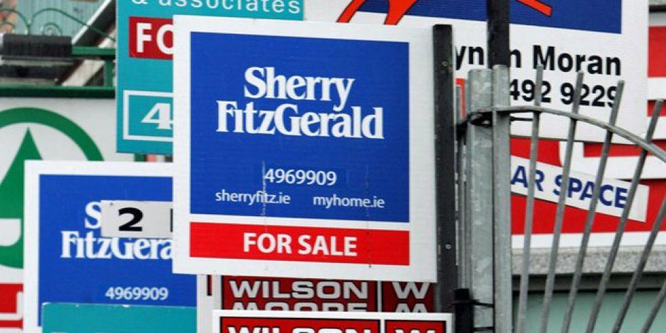 Irish property prices rising a...