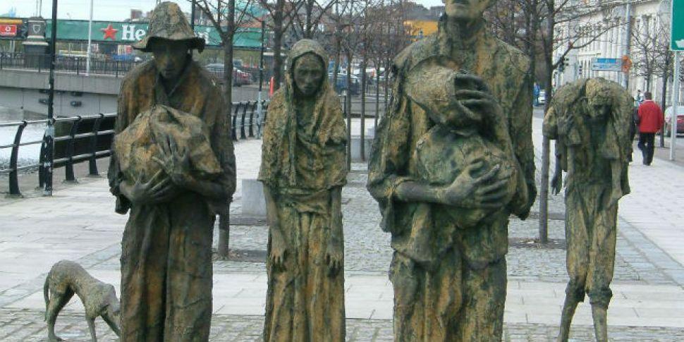 Famine Memorial Day Bill intro...