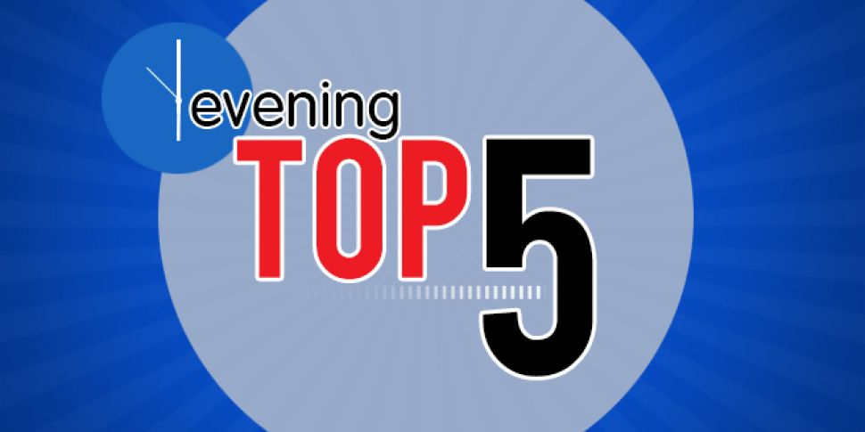 Evening Top 5: Second man dies...