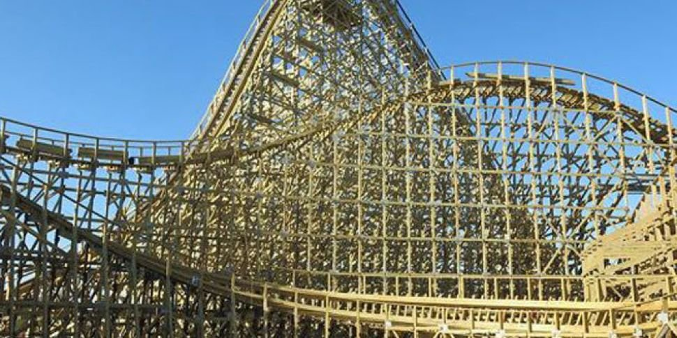 Watch Europe39s Largest Wooden Rollercoaster Opens In Co Meath