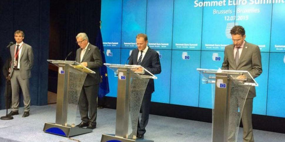 WATCH: European leaders agree...