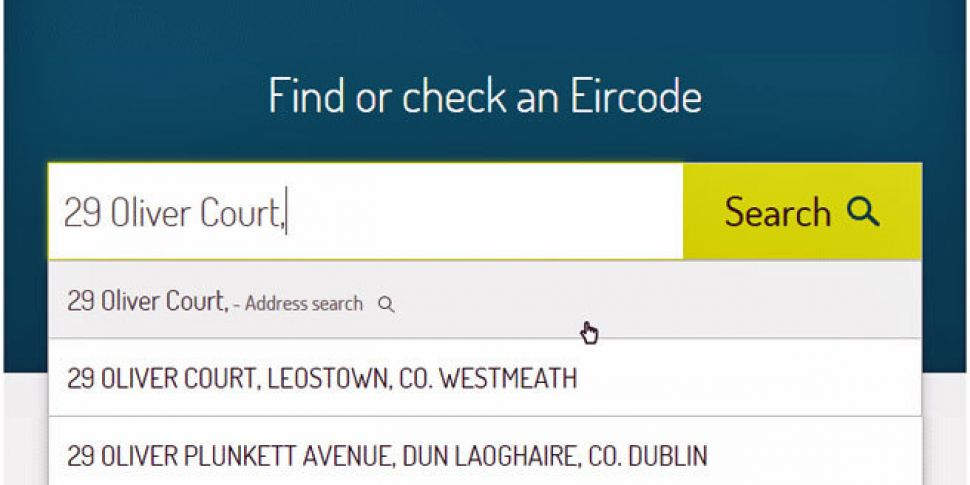 UNDAUNTED: For €27m we really should get our new postal code