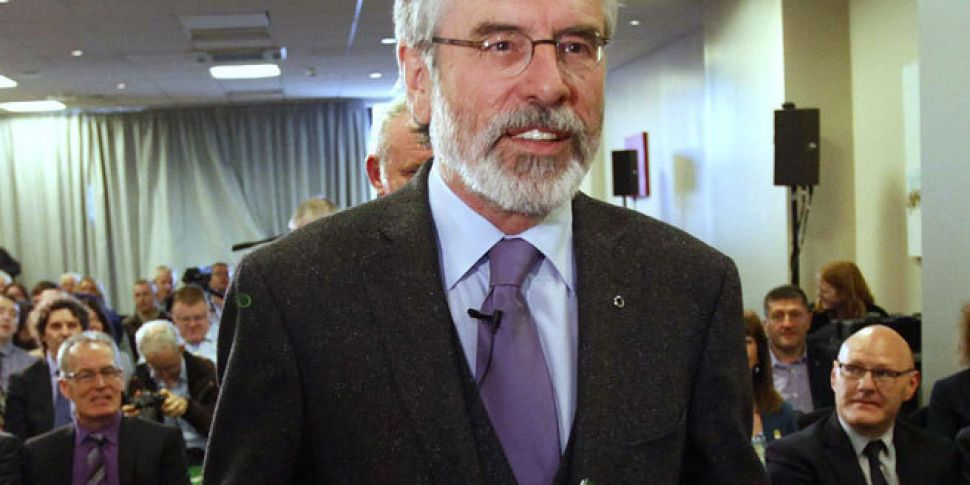 No prosecution for Gerry Adams...