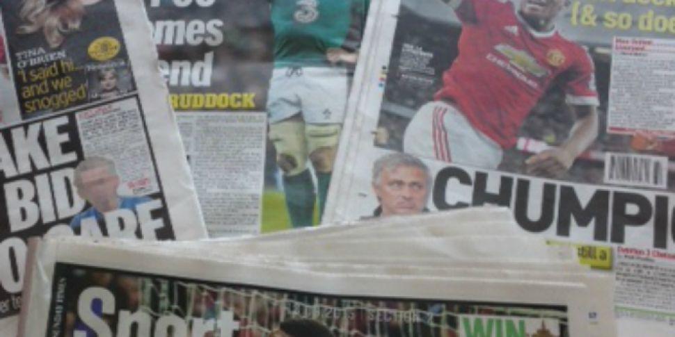 Sunday Paper Review: Irish Rug...