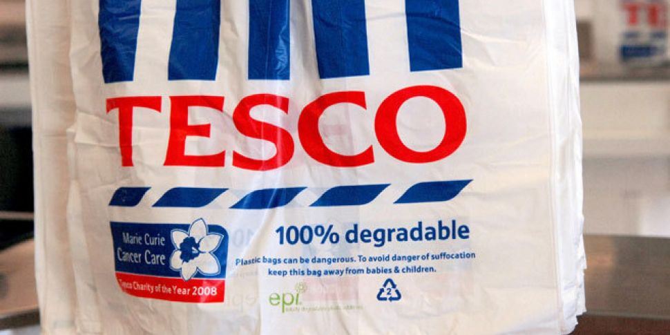 Tesco reports its first increa...