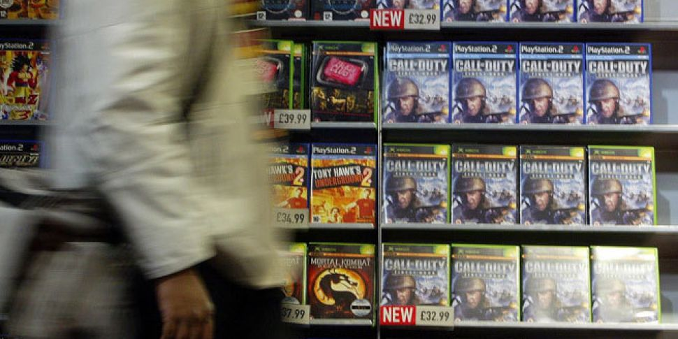 Study shows violent video-game...