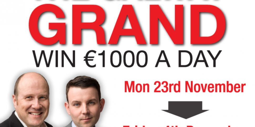 Galway listeners could win €1,...