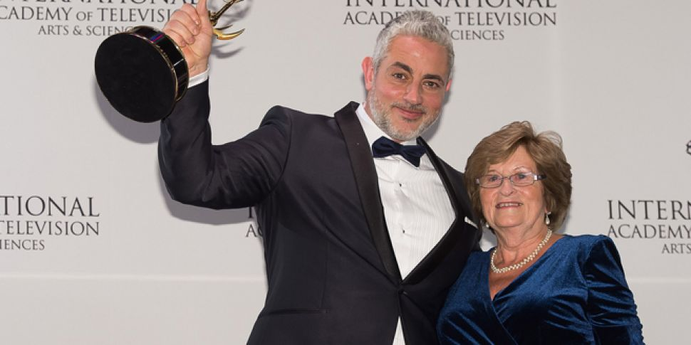 Baz Ashmawy and his mother win Emmy award for reality show
