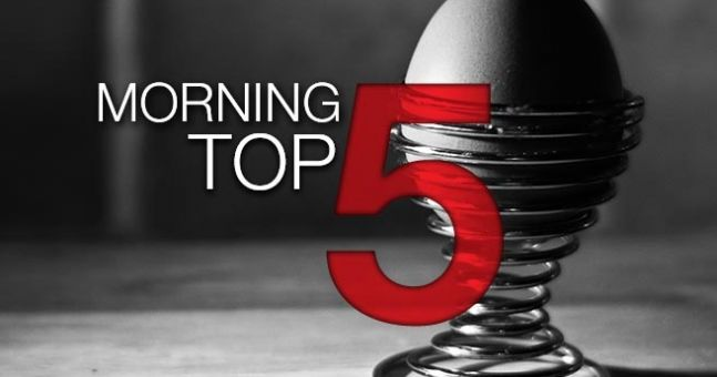 Morning top 5: Three killed in shooting at US family planning clinic