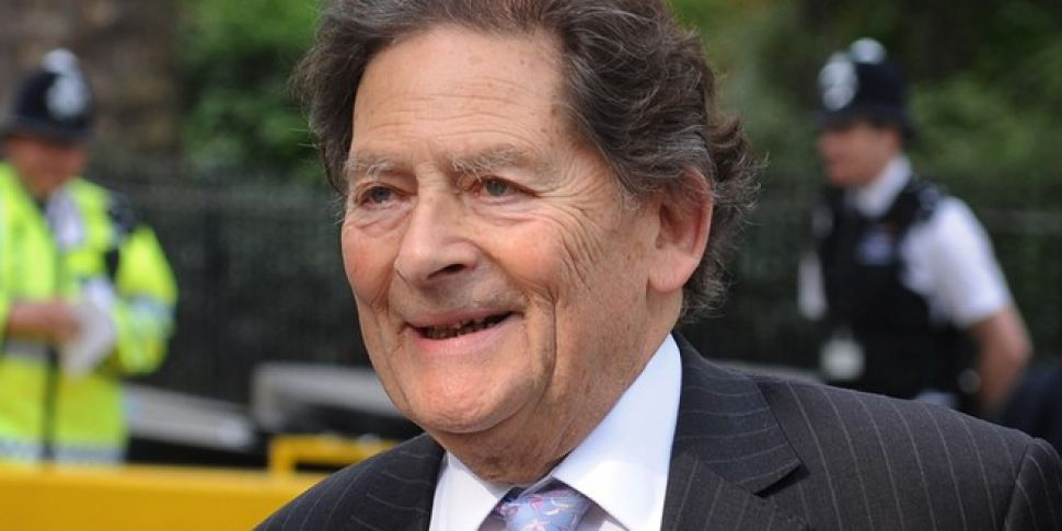 Lord Nigel Lawson hopes Irish...