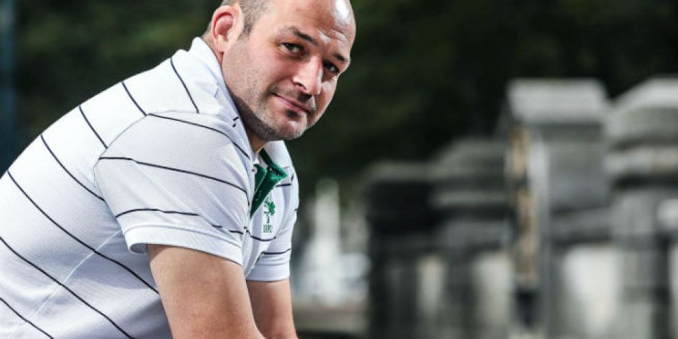 New captain Rory Best basks in...