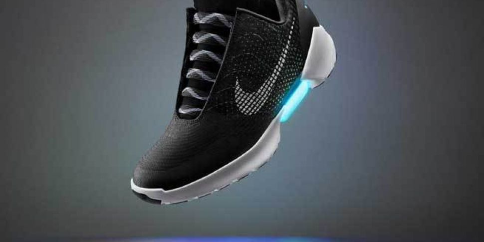 28090013bdf Price and release date for Nike s self-lacing shoes announced. nike air max  90 black white