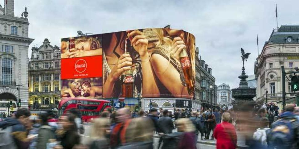London's famous Piccadilly...
