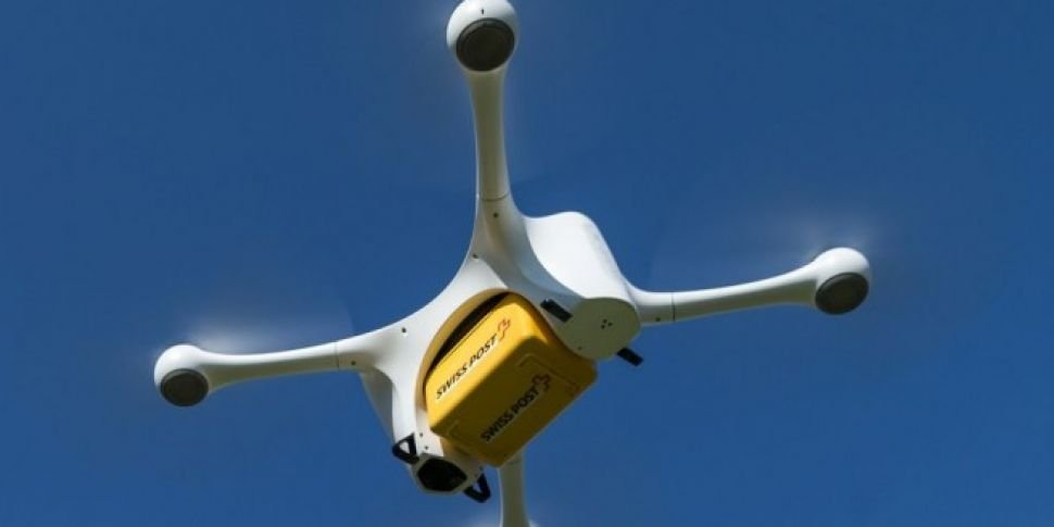Swiss hospitals pilot lab-sample drone delivery | Newstalk