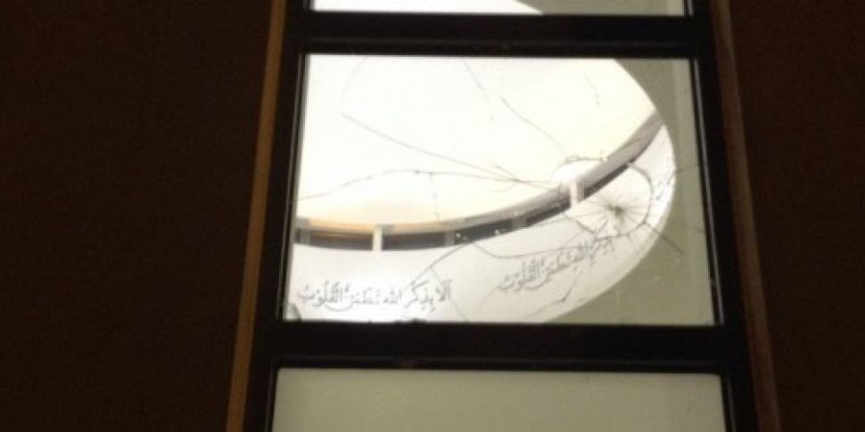 Galway mosque vandalised durin...