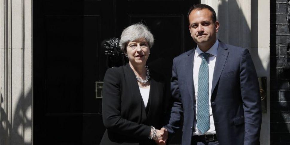 Varadkar meets Theresa May in...