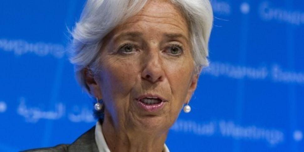IMF chief warns world will be...