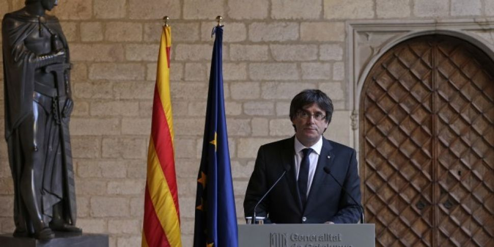 Catalan leader rules out snap...