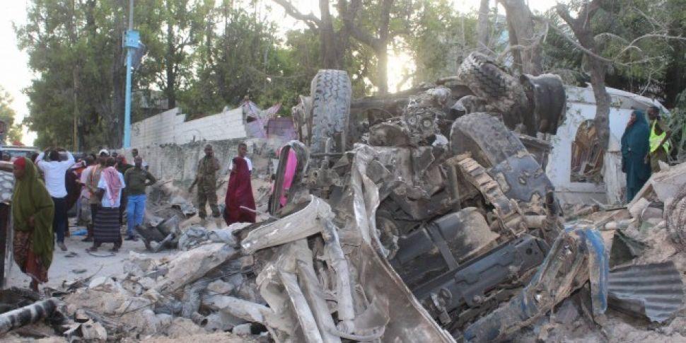Car bomb attack on Mogadishu h...