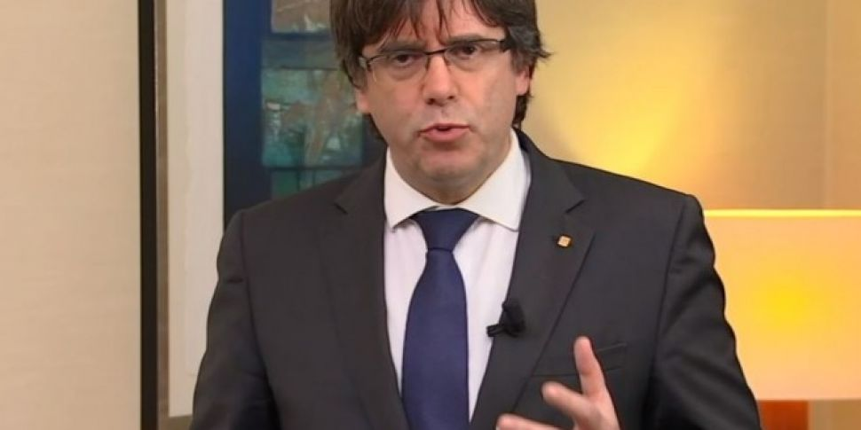 Ousted Catalan leader Puigdemo...