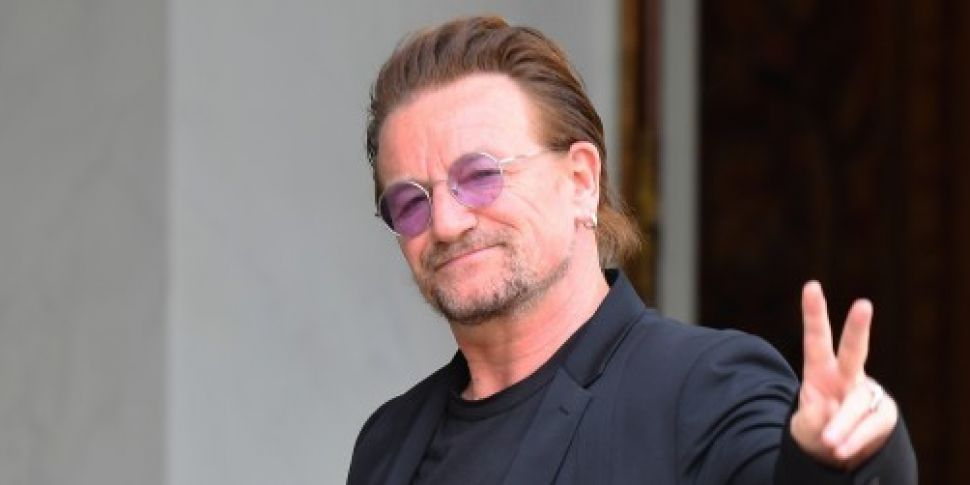 Bono listed in papers showing...
