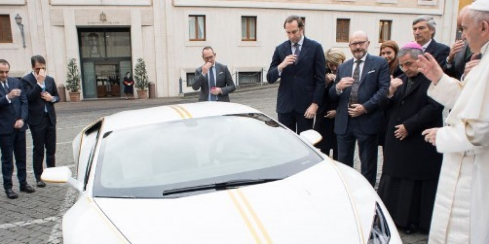 Personalised Lamborghini given...