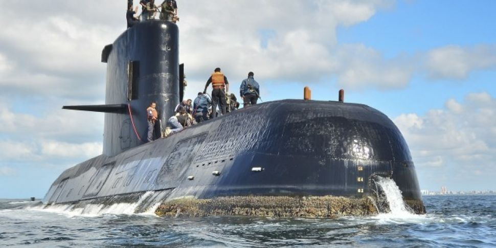 Argentinian submarine lost at...