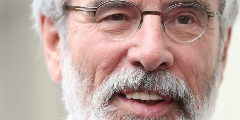 Gerry Adams to set out timetab...