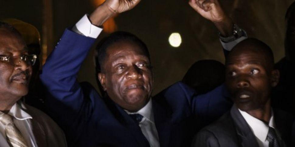 Zimbabwe's incoming leader...
