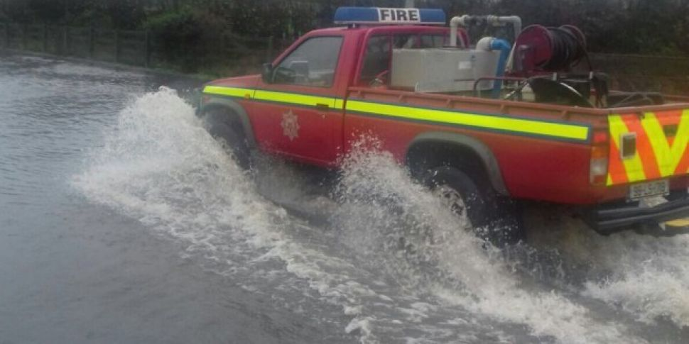Army mobilised as Laois flood...