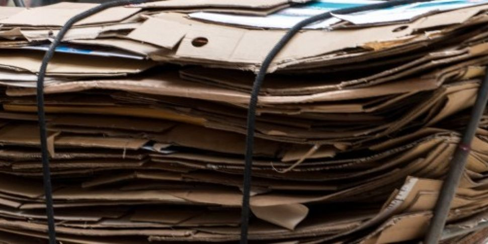 Packaging waste from online sh...