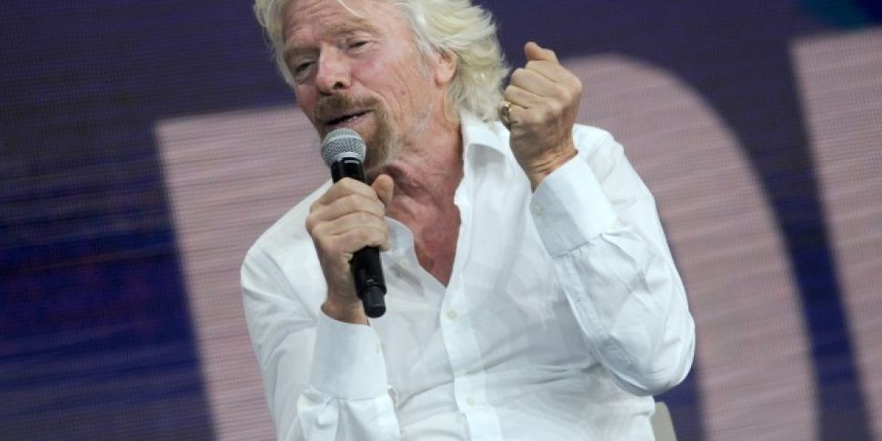 Richard Branson claims he has...